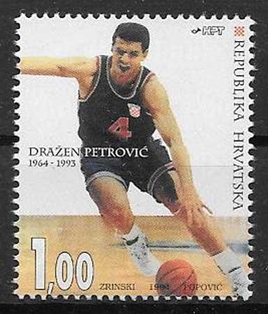 sellos deporte Croacia 1994