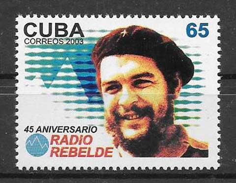 Sellos El Che Cuba-2003-03