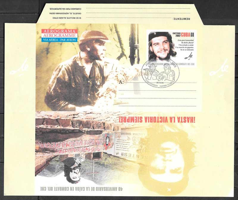 colección sellos personalidades Cuba 2007