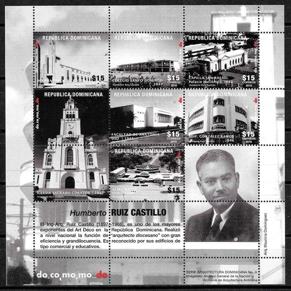 sellos arquitectura Dominicana 2018