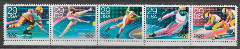 filatelia deporte USA 1992
