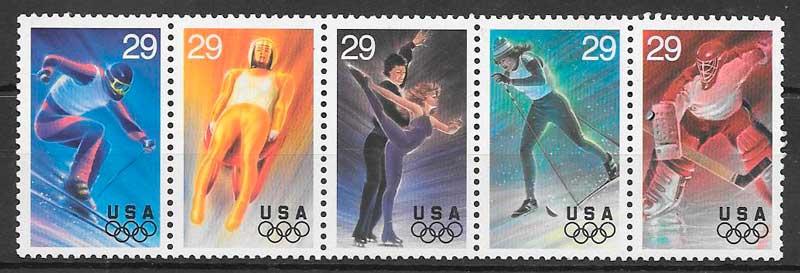 sellos deporte USA 1993
