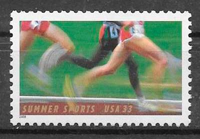sellos deporte USA 2000