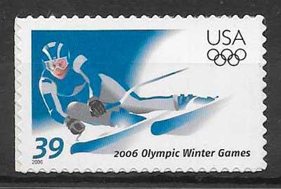 sellos deporte USA 2006