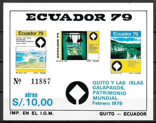 sellos arquitectura Ecuador 1979