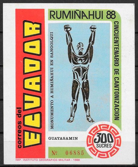 sellos arquitectura Ecuador 1989