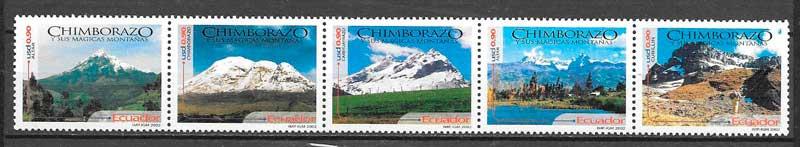 sellos arquitectura y turismo de Ecuador 2002