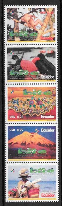 sellos turismo Ecuador 2003