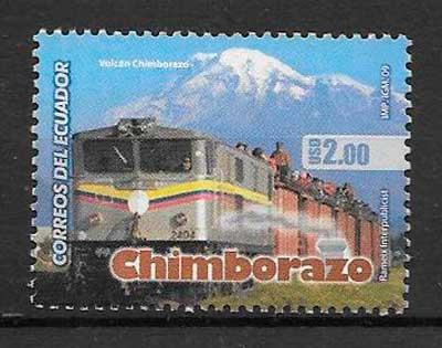 filatelia colección turismo Ecuador 2009