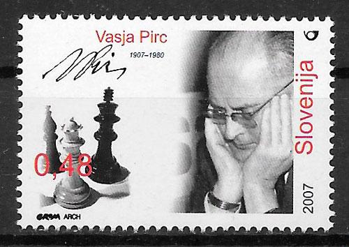 sellos deporte Eslovenia 2007