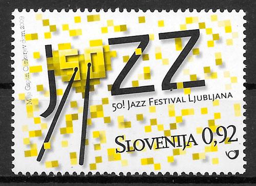 sellos arte Eslovenia 2009