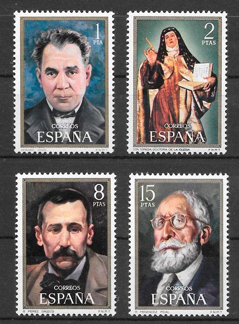filatelia coleccion personalidad Espana 1971