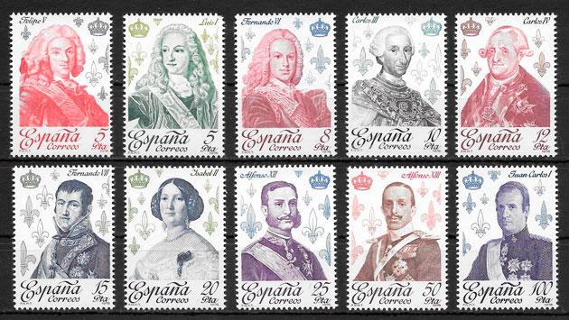 coleccion sellos Espana 1978