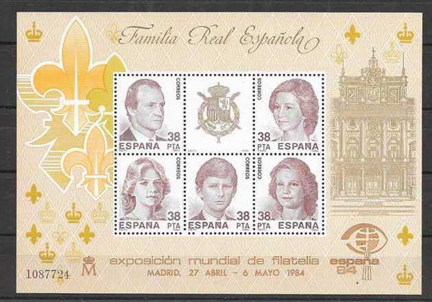 coleccion sellos Espana 1984