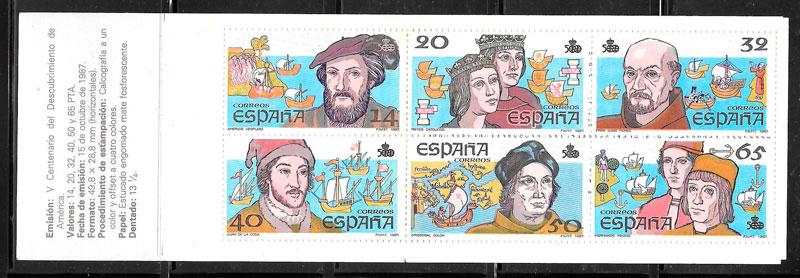 coleccion sellos Espana 1987