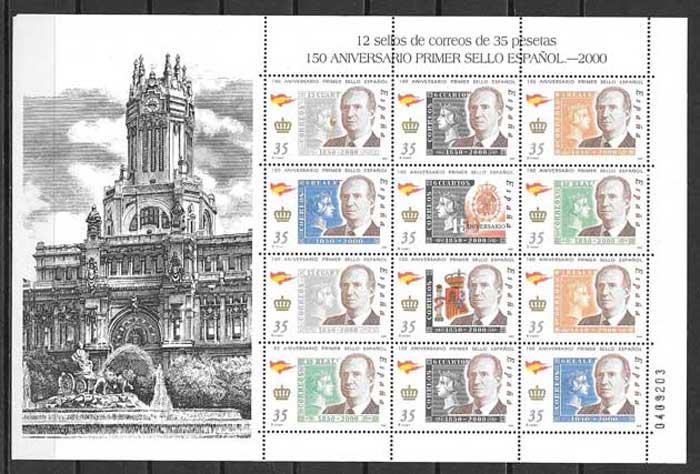 sellos personalidad Espana 2000