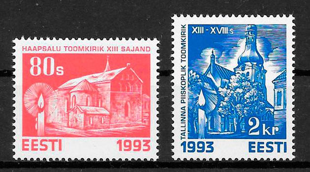 filatelia colección navidad 1993