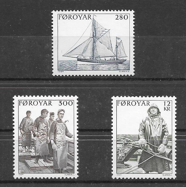 Sellos Filatelia Feroe-1984-01