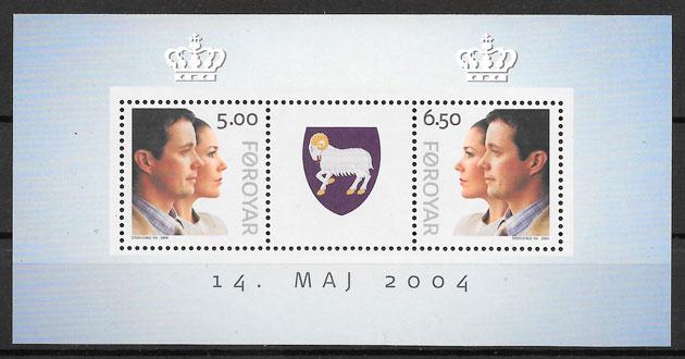 sellos personalidad Feroe 2004