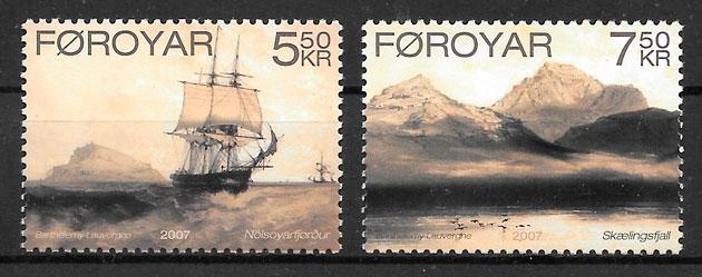 sellos arte Feroe 2007