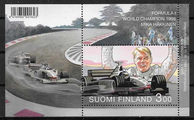 sellos deporte Finlandia 1999