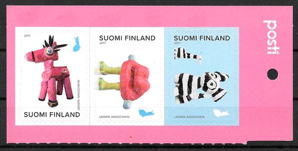 filatelia colección arte Finlandia 2017