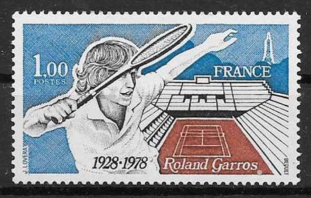 sellos deporte Francia 1978