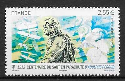 sellos transporte aéreo Francia 2013