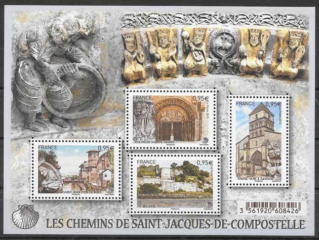 sellos arquitectura Francia 2015
