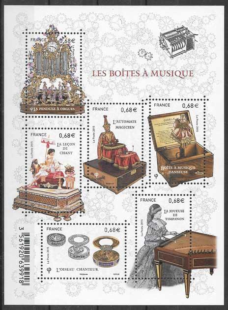 sellos arte Francia 2015