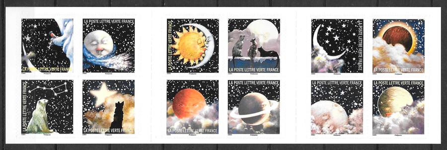 sellos espacio Francia 2016
