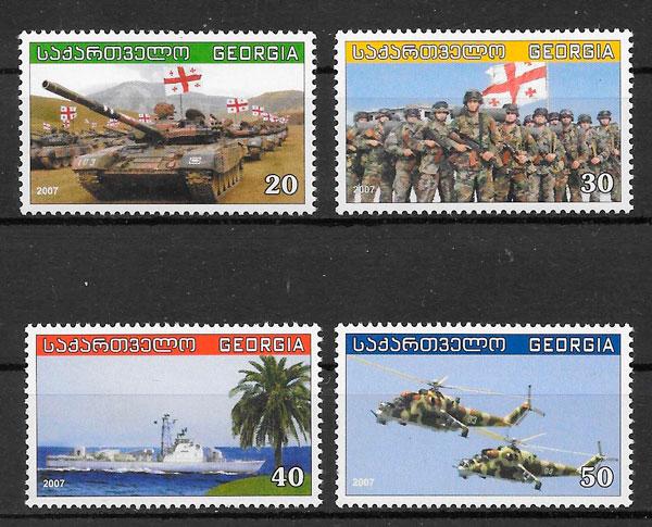 sellos transporte Georgia 2007