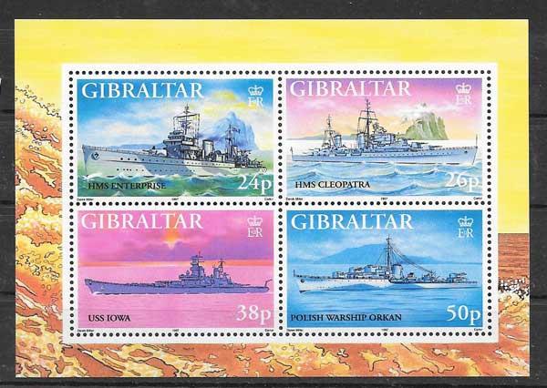 Sellos navíos de guerra 1997