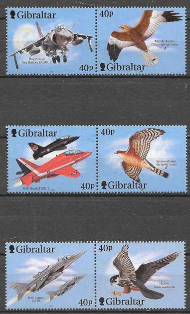 Filatelia transporte Gibraltar 2001