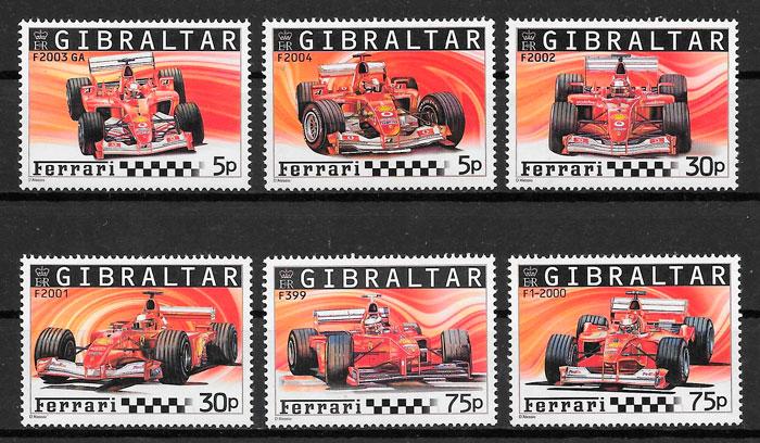 sellos deporte Gibraltar 2004
