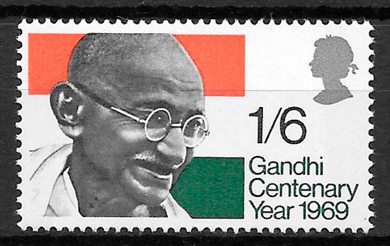 sellos personalidad 1969 Gran Bretaña