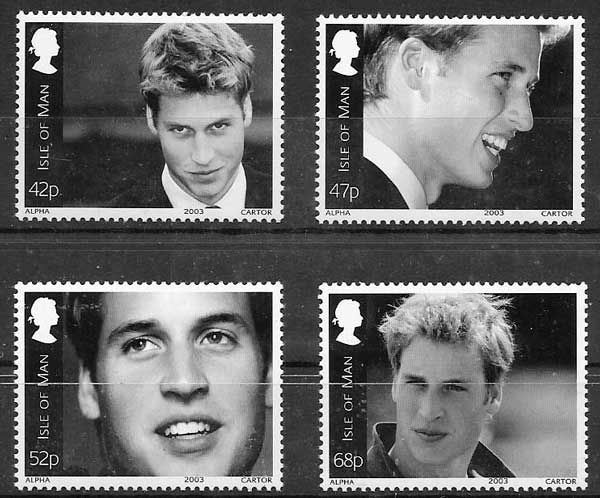 sellos personalidad 2003 Isla de Man
