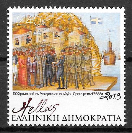 sellos transporte Grecia 2013