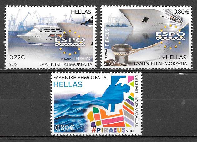 sellos transporte Grecia 2015