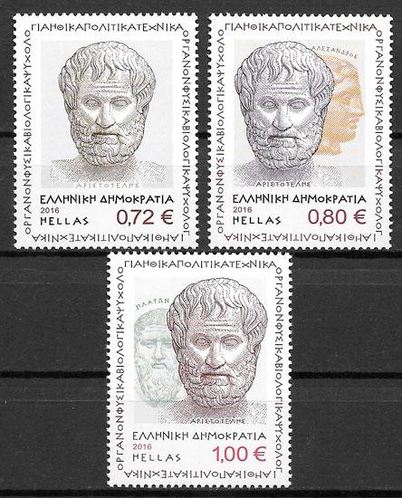sellos personalidad Grecia 206