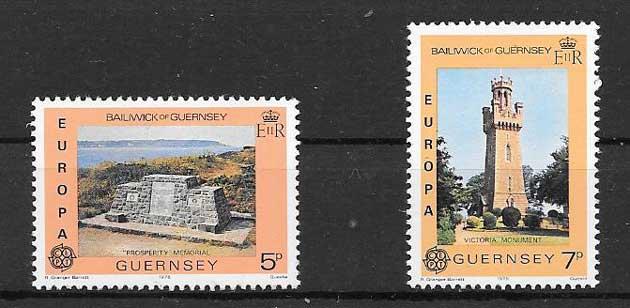 Sellos Tema Europa 1978