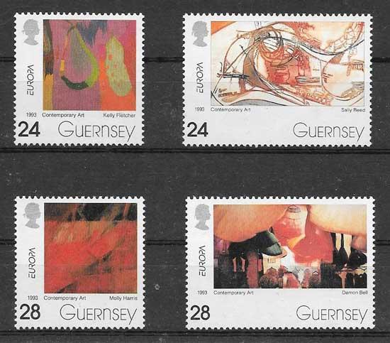 Colección sellos Tema Europa del 1993