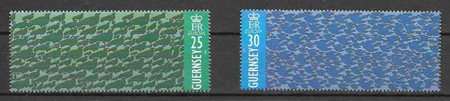 Sellos Tema Europa 1995