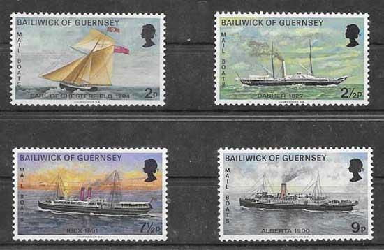 Sellos correo marítimo 1972