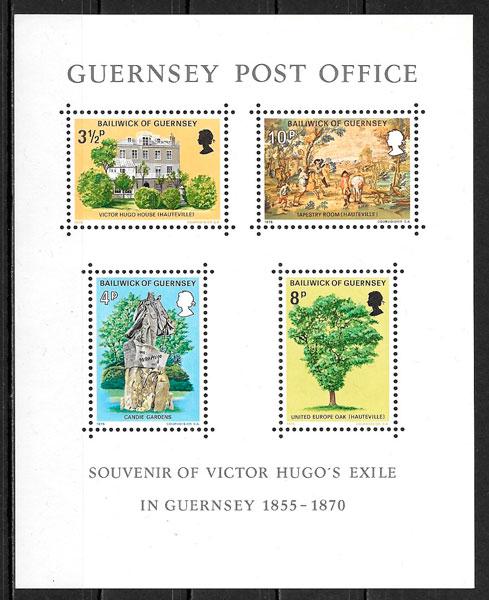 sellos personalidad Guersey 1975