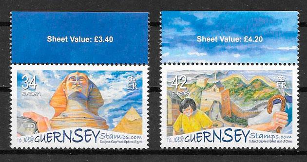 selos Europa 2006 Guernsey