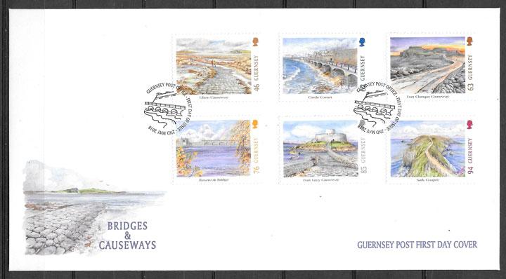 sellos Europa 2018 Guersey