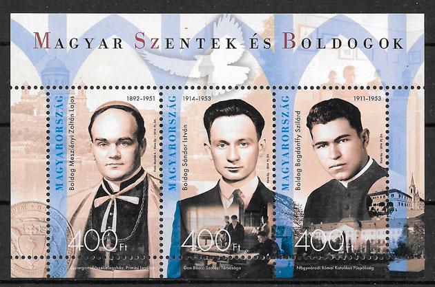 coleccion sellos personaliada Hungraia 2011