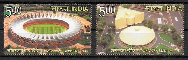 sellos deporte India 2010