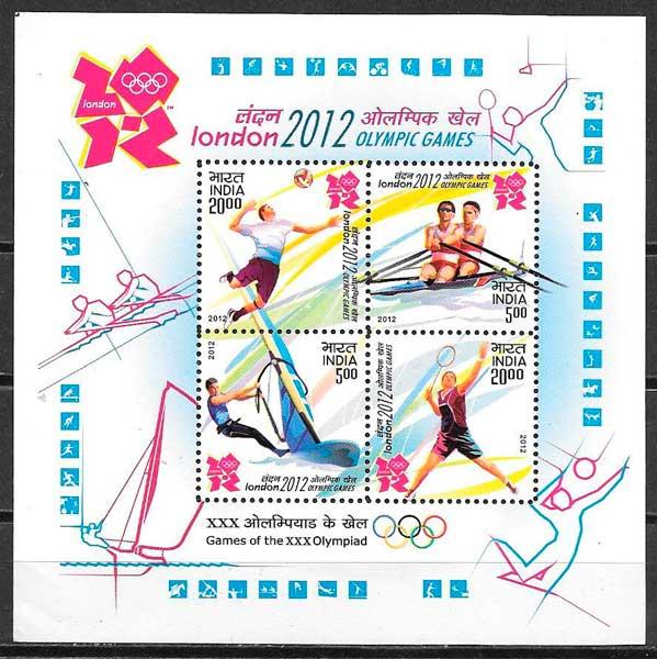 sellos deporte India 2012